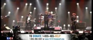 Les Stones à New York au profit des victimes de Sandy