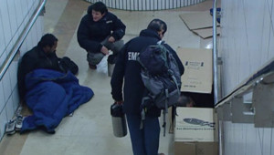 TF1/LCI : Bénévoles de l'association Emmaüs à la rencontre des exclus