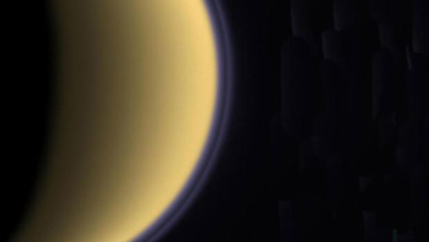 titan sonde cassini-huygens planète espace astronomie