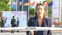 Depuis le Japon, Hollande se montre ferme et déterminé face aux grévistes