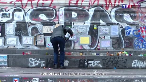 Nuit Debout : les riverains exaspérés par les dégradations place de la République