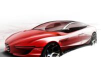 Alfa Romeo Gloria, concept-car élaboré par l'IED pour le Salon de Genève 2013