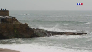 Le 20 heures du 20 mars 2015 : A Biarritz, on attend la marée du siècle - 340.7560000000001