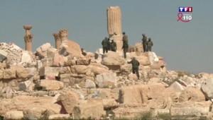 À Palmyre, l'heure est à l'inventaire après que 30% du site aient été détruits par Daech
