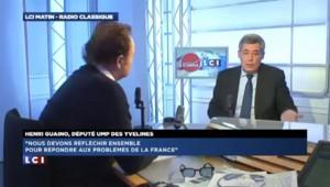 """Guaino: """"Si j'avais à faire une campagne, je ne ferais pas la même qu'Alain Juppé"""""""