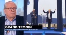 """Jean-Marie Le Pen : """"Marine n'est pas tout à fait elle-même"""""""
