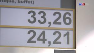 Le 13 heures du 11 juillet 2014 : Vacances : les stations essence sur les nationales prises d%u2019assaut - 344.825