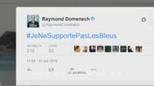 "Raymond Domenech tweete ""Je ne supporte pas les Bleus"""
