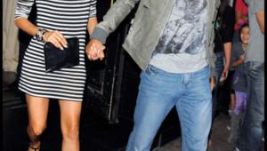 Eva Longoria et Tony Parker. Aprèes une soirée dans leur restaurant (Le Beso) à Hollywood.