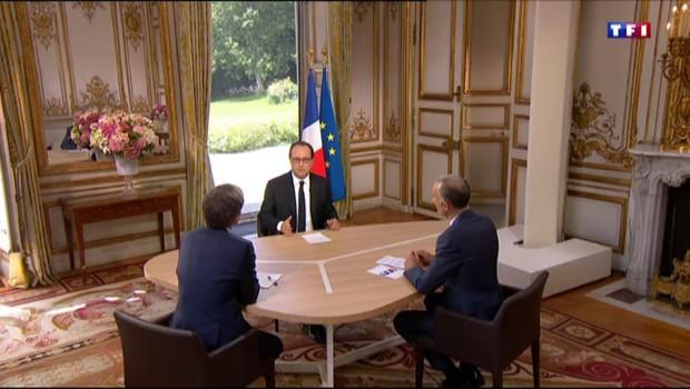 L'avertissement de François Hollande à Emmanuel Macron