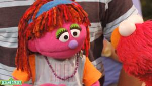 Lily, la marionnette de 1, rue Sésame