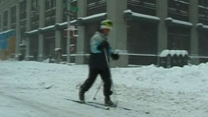 neige new york 13 février 2006