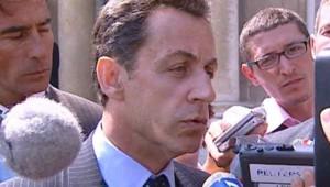 "Nicolas Sarkozy réagit quand à la dissolution de la ""tribu Ka"""
