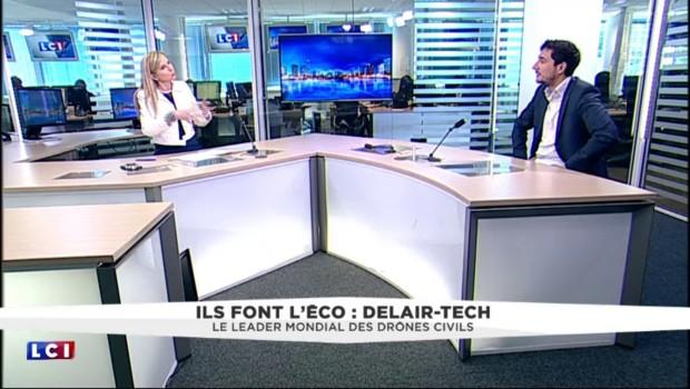 """""""Delair-Tech"""", le leader mondial des drones civils s'exporte aux États-Unis"""