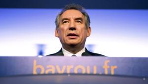François Bayrou à Paris le 14 janvier 2012
