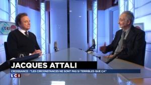 """Jacques Attali : """"Je comprends que les frondeurs n'aient pas voté la loi Macron"""""""