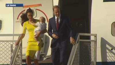 Kate, William et George à Sydney