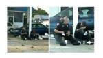 La policière offre un repas à un SDF... et finalement reste avec lui pour tout le déjeuner