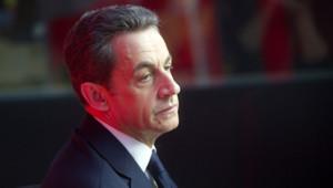 Nicolas Sarkozy le 17 avril 2012.