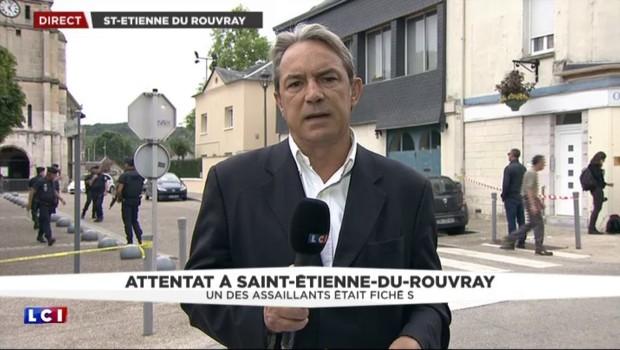 Saint-Étienne-du-Rouvray : l'identification du deuxième terroriste toujours en cours