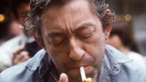 Serge Gainsbourg gauloise cigarette tabac