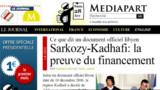 """Sarkozy: les accusations de Mediapart sont une """"infamie"""""""