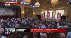 """François Hollande : """"Indiquer là où je veux conduire la France"""""""