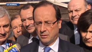 """Hollande """"comprend"""" que Sarkozy envisage son retrait """"s'il n'était pas réélu"""""""