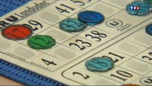 Le 13 heures du 25 mars 2013 : Le loto : les tables de l'espoir - 1798.7414201049805
