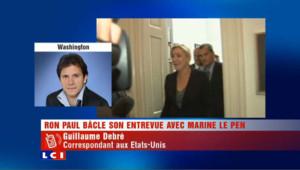 Marine Le Pen aux Etats-Unis : une tournée allégée