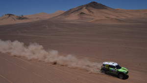 Stephane Peterhansel sur le Dakar 2013.