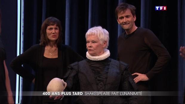 Des stars britanniques dans une battle de « to be or not to be » en hommage à Shakespeare