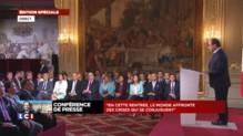 """François Hollande : """"Mon premier devoir c'est d'assurer la sécurité de la France"""""""