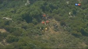 Le 13 heures du 21 août 2013 : Incendie en Corse : les pompiers toujours mobilis�- 193.236