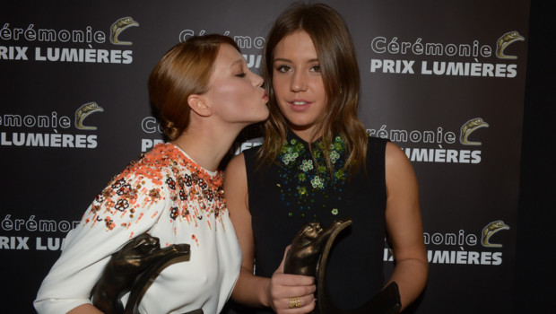 Adele Exarchopoulos Tattoo Meaning Adele and lea from blue is the