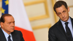 Nicolas Sarkozy Silvio Berlusconi