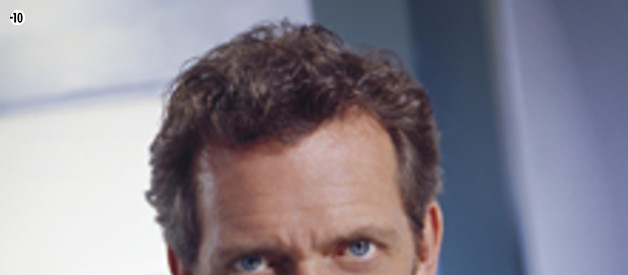 Hugh Laurie (Dr Gregory House) dans Dr House