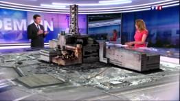 30 ans de Tchernobyl : la centrale reconstruite sur le plateau de TF1