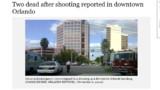 Nouvelle fusillade aux Etats-Unis, cette fois en Floride