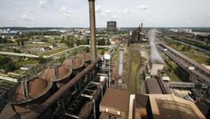 Des fourneaux d'une usine ArcelorMittal (archives).