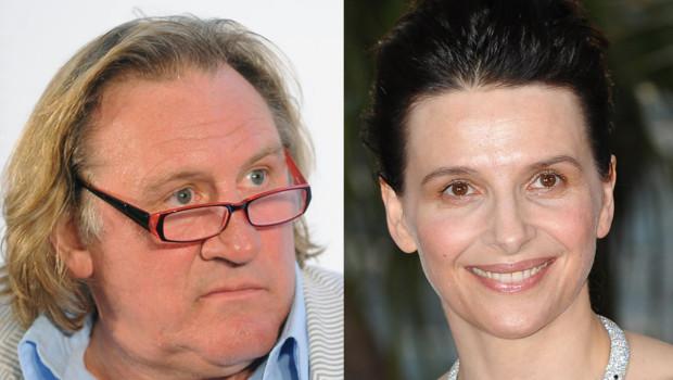 Gérard Depardieu Juliette Binoche