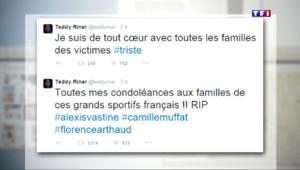 Le 13 heures du 10 mars 2015 : Crash en Argentine : les hommages du monde sportif sur Twitter - 1335.4369999999997