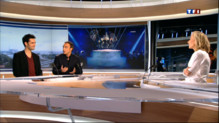Le 20 heures du 19 mai 2013 : The Voice : Yoann Frt et Nikos, invitdu 20h - 2369.402