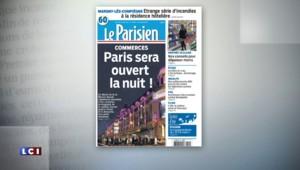 Les commerces à Paris bientôt ouverts la nuit : la revue de presse du mercredi 19 août