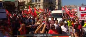 Manifestations : des incidents constatés dans certaines grandes villes