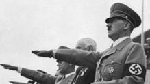 Hitler à la cérémonie d'ouverture des Jeux olympiques de Berlin, 1er août 1936