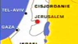Israël carte cisjordanie