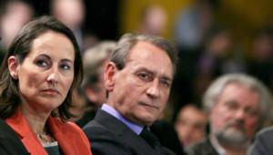 Ségolène Royal et Bertrand Delanoë lors d'un meeting à Roubaix (janvier 2007)