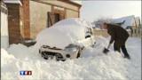 Normandie, la neige tient bon
