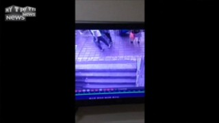 Chine : le sol s'effondre sous les pieds des passants